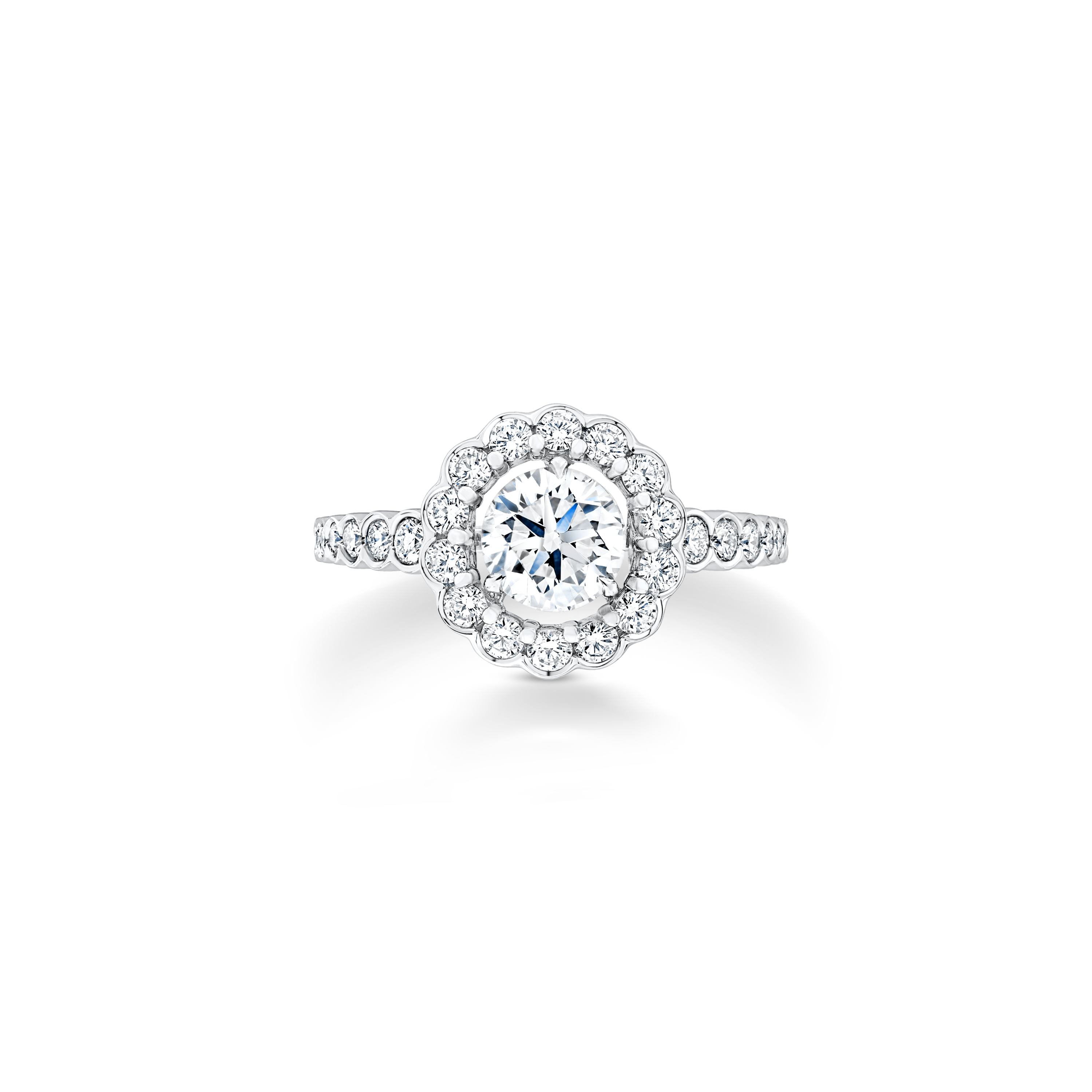 Ellizabeth solitaire ring